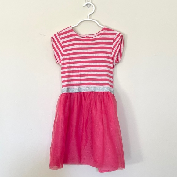 Baby Gap tshirt dress with sparkly tulle skirt 5T
